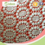 Tessuto chimico del merletto delle macchine del reticolo del ricamo del merletto geometrico eccellente della rete