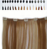 Straight crespo Hair Clip in Hair Extensions per l'afroamericano