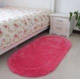 Kundenspezifisches Polyester-Silk Fuss-Teppich und Matte