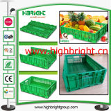 Accatastabile e Nestable Plastic Lidded Storage Crate