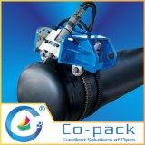 Сверля вырезывания газопровода города скашивая и филировальная машина
