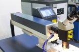 Máquina de soldadura pequena do laser da fibra do molde do metal industrial