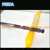 El líquido refrigerador del carburo de la precisión de la alta calidad HRC55/60 perfora la herramienta