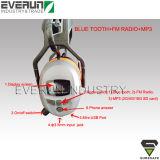 Capas protetoras para as orelhas dos defensores de orelha ER9230 com Bluetooth +FM +MP3 de rádio