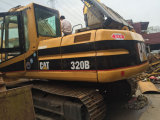 Excavatrices hydrauliques utilisées de l'excavatrice 320b Cralwer de tracteur à chenilles