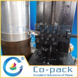 Machine de processus cylindrique de pipe fendue de bâti de Portable