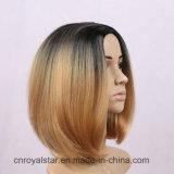La maggior parte della parrucca sintetica diritta dei capelli femminili popolari