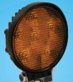 Bernsteinfarbige Arbeits-Leuchte des Röhrenblitz-Abschluss-Flut-Träger-LED