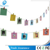 Marco de Fujifilm Instax Mini decoración de la pared de papel que cuelgan marco de la foto