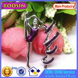 Tanzen-Mädchen-Gymnastikpin-Brosche #51173 China-GroßhandelsCusotm