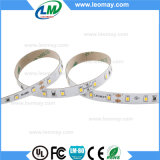 El LED elimina 2835 con la luz de tira flexible de 60LEDs 24V LED (LM2835-WN60-WW-24V)