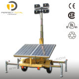 tour légère solaire de 200W LED