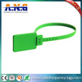 Tag impermeável do laço da freqüência ultraelevada RFID do PVC para o seguimento da bagagem