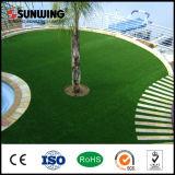 Трава зеленого цвета сертификата SGS естественная 40mm искусственная для Futsal