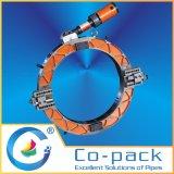 圧縮空気の管の斜角が付く及び締切り機械