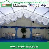 De grote Tent van de Partij van het Aluminium met de Muren van het Glas