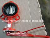 Мягкая клапан-бабочка вкладыша с ISO одобренным Wras Ce (CBF02-TA04)