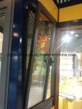 Schuine stand van Daluminium van het Frame van het aluminium de Houten binnen Venster