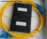 Sc Connector를 가진 CATV FTTH Sc APC/Upc Splitter Cassette Type Fiber Optic Splitter