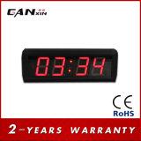 """[Ganxin] 2.3 """"ホーム装飾のための精密世界の時間LEDデジタル時計"""