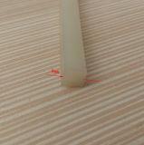 Mousse flexible de résistance thermique ou cordon carré solide en caoutchouc de silicones