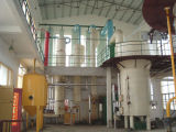installation à extraction par solvant du soja 50tpd, équipement d'extraction par solvants de tourteau
