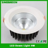 Ce non Xerox RoHS 9W del LED Down Light