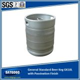 General Standard Beer Keg Gpk10L mit Passivation Finish