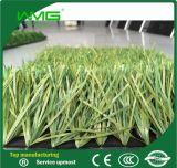 インドアサッカーのための緑の人工的な草