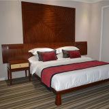 Stern der Teakholz-hölzerner Gastfreundschaft-Rücksortierung-Hotel-Schlafzimmer-Möbel-fünf