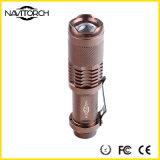 Wasserdichte teleskopische taktische LED Taschenlampe des Fokus-3model (NK-628)