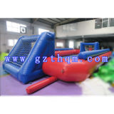 新しいDesign Inflatable Top Quality Football Play FieldsかInflatable Sports Game