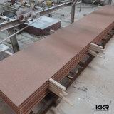 superficie solida acrilica di struttura di 6mm per il rivestimento della parete