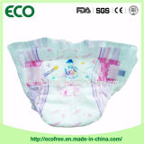 Tecido descartável do bebê da absorvência elevada seca e macia de uma classe