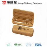 Bamboo коробка подарка с ручкой и карандашем