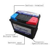 Mf-Speicher-Automobil-nachfüllbare Autobatterie (MF DIN50)
