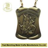 Medaille van het Metaal van de Toekenning van de Sport van de douane de Lopende