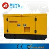 Jogo de gerador Diesel silencioso de refrigeração água de 35kVA Weichai