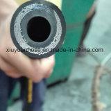 Boyau en caoutchouc hydraulique flexible de pétrole à haute pression spiralé avec 902-4s