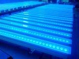 Lampe de mur de lavage LED teignant des lumières de guide optique