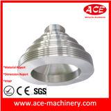 Поворачивать CNC части штепсельной вилки нержавеющей стали