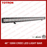 "40 "" 120W Single Row Curved LED van Road Light Bar voor 4X4 (TLB1120X)"