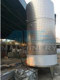 Réservoir sanitaire sanitaire de fermenteur de fermentation de vin d'acier inoxydable (ACE-FJG-5B)