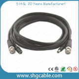 Hot Sale Rg59 + Powe Wire Coaxial Cable Assembly com BNC DC Connectors