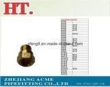 Ajustage de précision en laiton américain de connecteur femelle d'élém. d'épanouissement