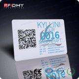 PlastikPrinting Card mit Round Corner Barcode