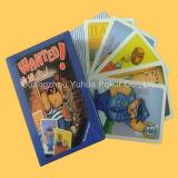 Cartes en plastique adultes de jeu de cartes de jeu avec la qualité