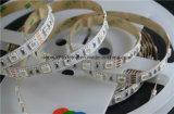 Luz de tira estupenda del brillo SMD 5050 LED con el circuito doble