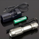 CREE Bulb Police Flashlight mit Li-Ion Battery