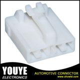 Te651038自動車電子のための白い女性の男性4のピンコネクタ